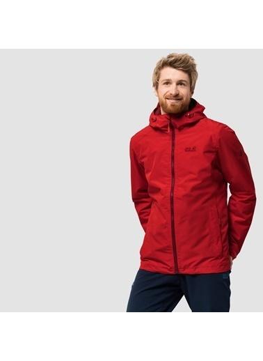 Jack Wolfskin Chilly Morning Hardshell Erkek Ceket - 1108353-2015 Kırmızı